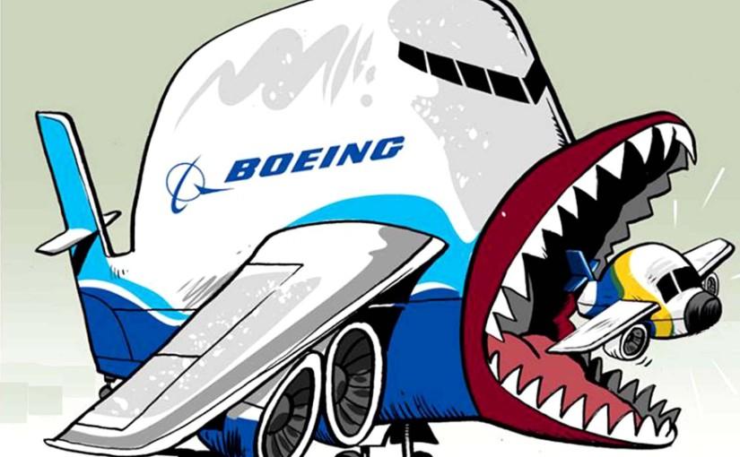 Embraer, Boeing e a projeção de poder tecnológico doImpério